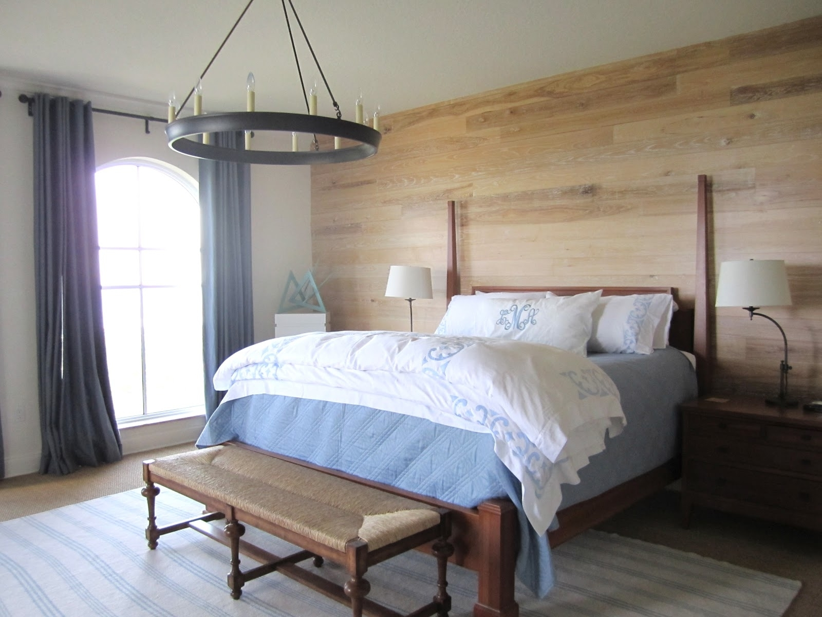 Bedroom Design: Accent Wallpaper Ideas Wall Decor Accent Wall Regarding Best And Newest Wall Accents For Small Bedroom (View 4 of 15)