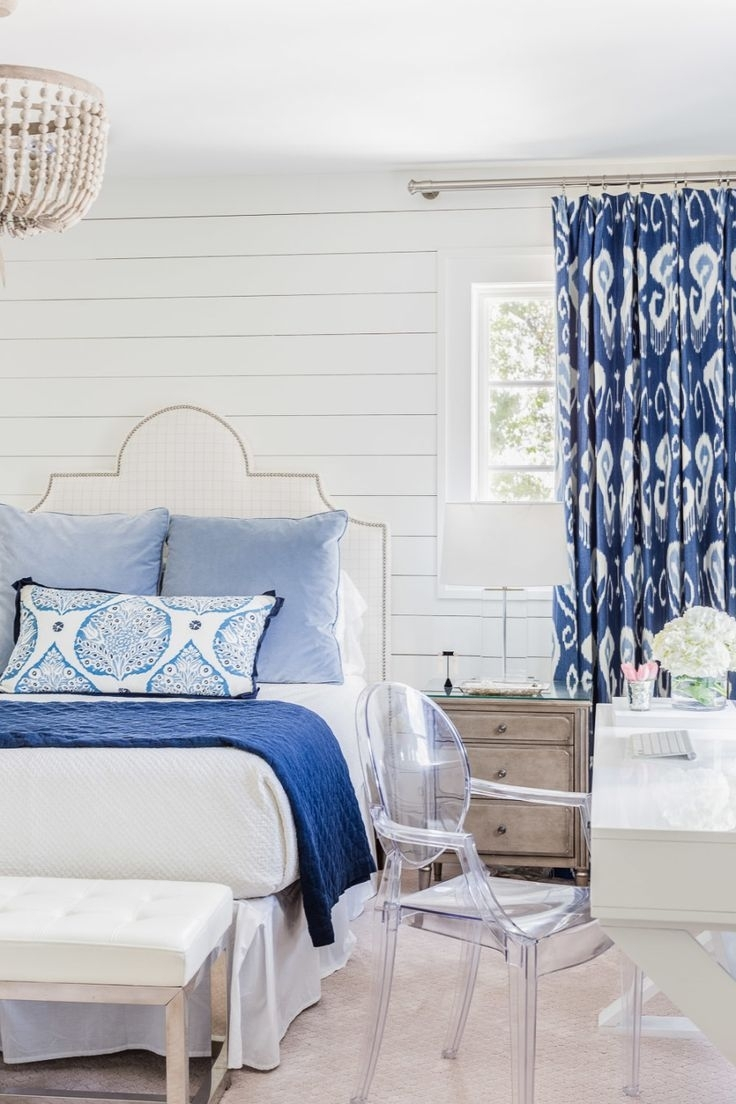 Bedroom Design: Blue Room Decor Blue Paint Colors For Bedrooms With Regard To Most Current Light Blue Wall Accents (View 5 of 15)