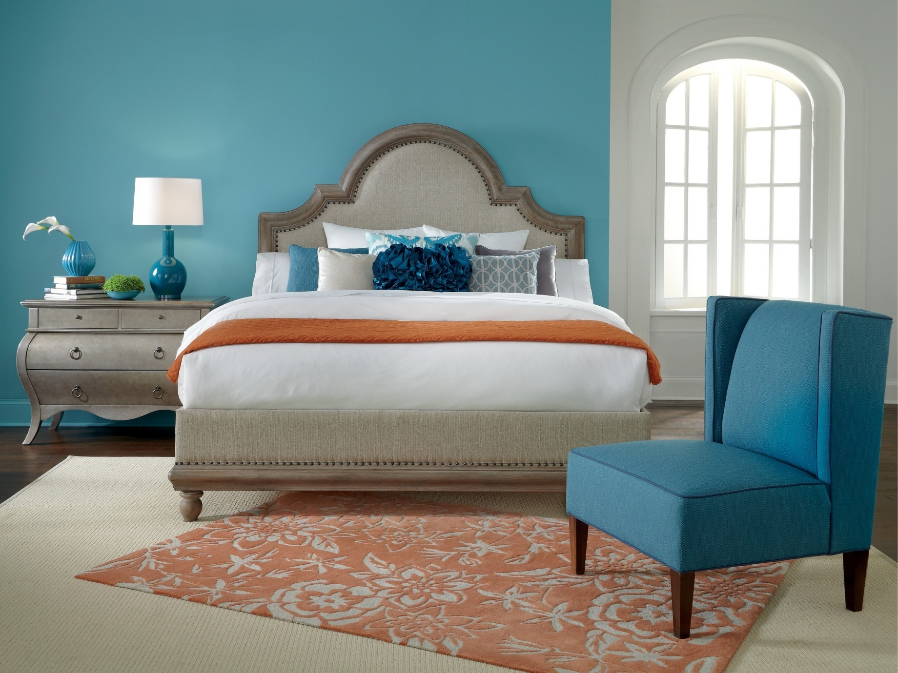Bedroom Design: Feature Wall Paint Painting Accent Walls Accent Inside Current Wall Accents Color Combinations (View 4 of 15)