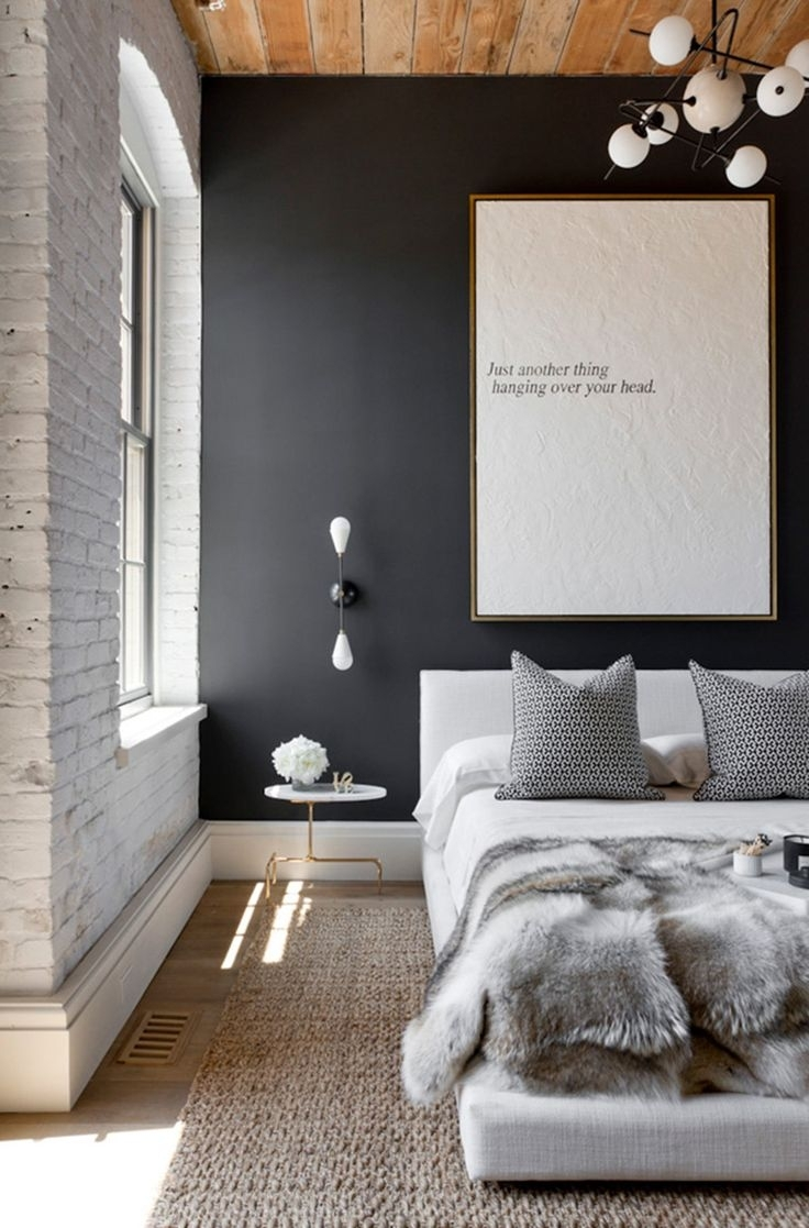 Bedroom Design: Grey Accent Wall Living Room Wall Decor Ideas Wall For Most Up To Date Wall Accents For Grey Room (View 8 of 15)
