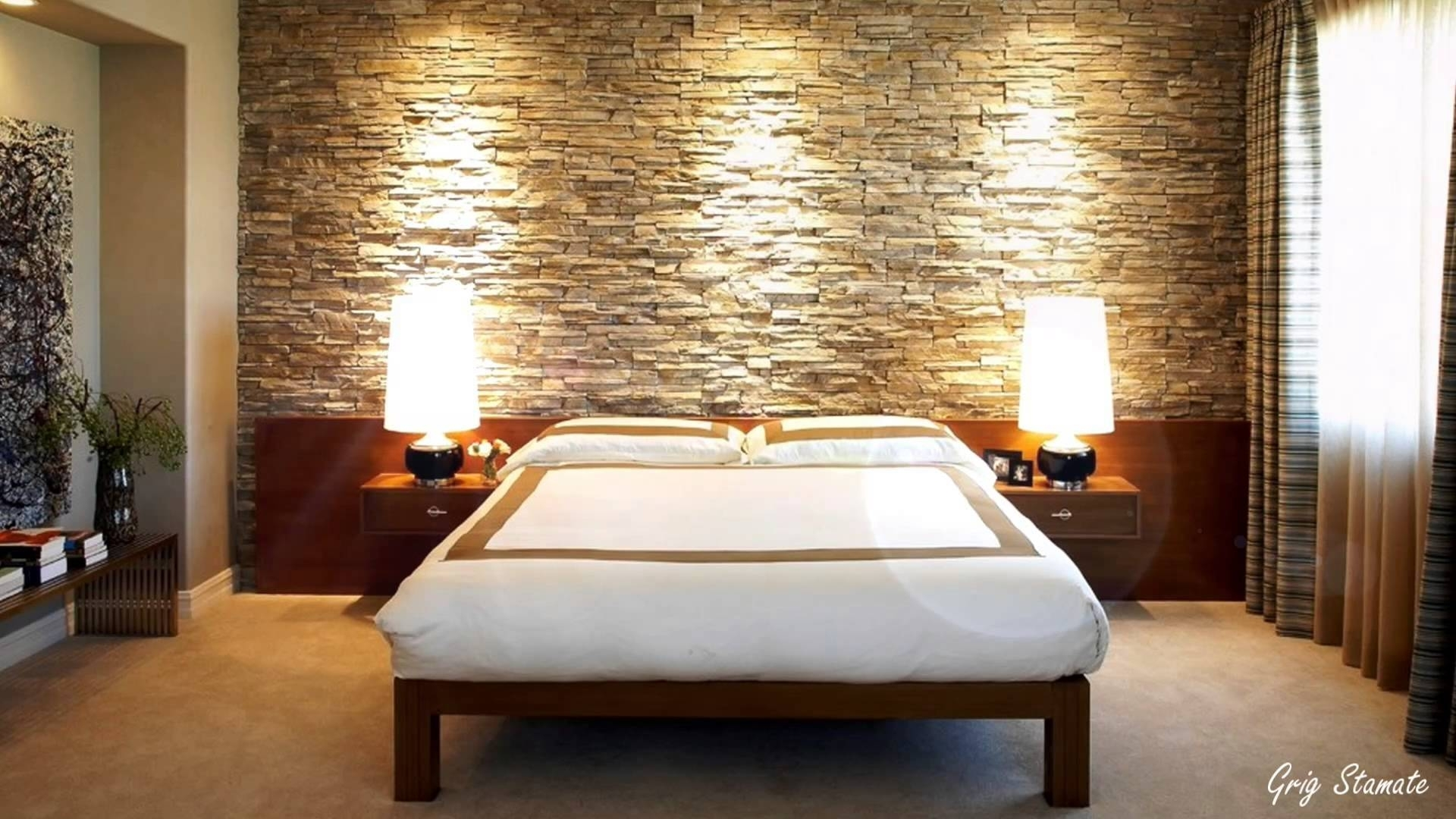 Bedroom Ideas : Master Bedroom Wall Decor Best Of Master Bedroom Within Recent Wall Accents Behind Bed (View 4 of 15)
