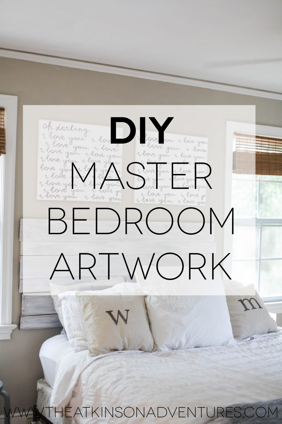 Bedroom : Master Bedroom With Wall Art Painting Redecorate In Latest Masters Canvas Wall Art (View 7 of 15)