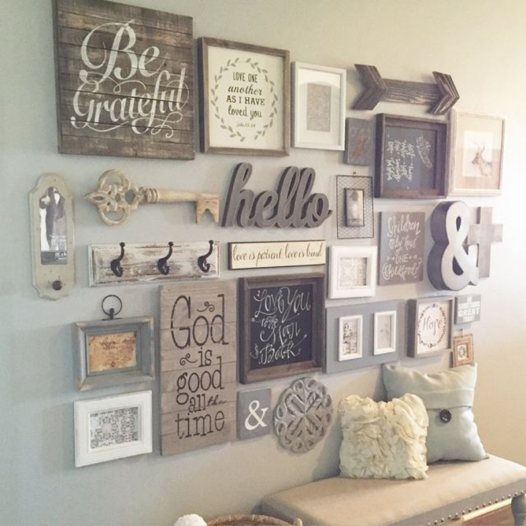 Bedroom Wall Decorations Decorating With Photo Frames Diy Wall Inside Current Diy Wall Accents (View 12 of 15)