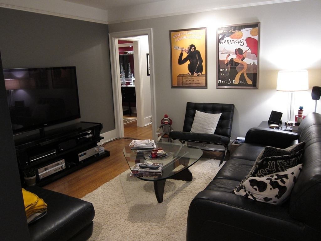Benjamin Moore Revere Pewter – Finished Basement   For The Home With Recent Wall Accents For Revere Pewter (View 1 of 15)
