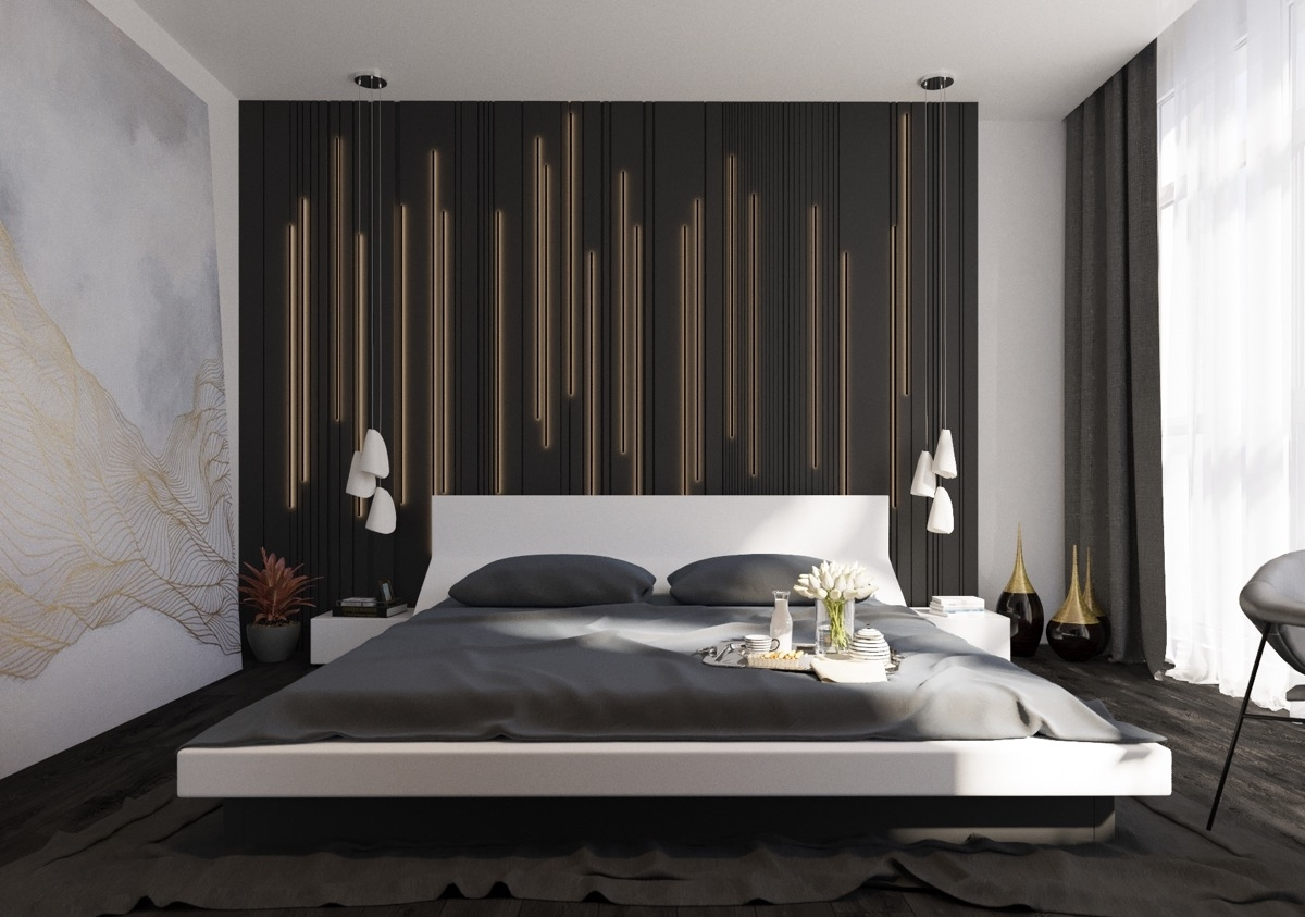 Best 25 Bedroom Wall Decorations Ideas On Pinterest Decor For Inside Most Up To Date Wall Accents For Bedroom (View 8 of 15)