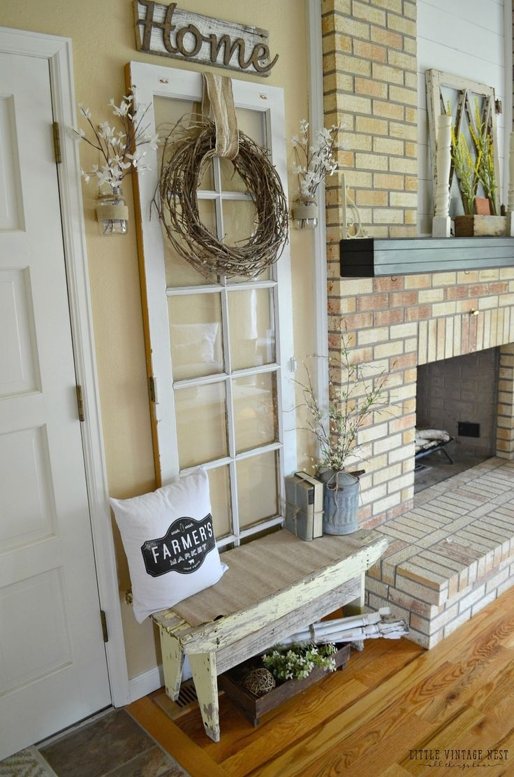 Best 25 Vintage Door Decor Ideas On Pinterest Rustic Decorative Pertaining To 2018 Vintage Wall Accents (View 15 of 15)