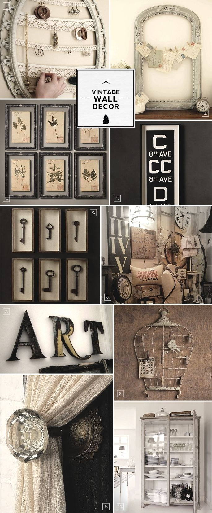 Best 25 Vintage Walls Ideas On Pinterest For Wall Decor Ideas With Latest Antique Wall Accents (View 3 of 15)