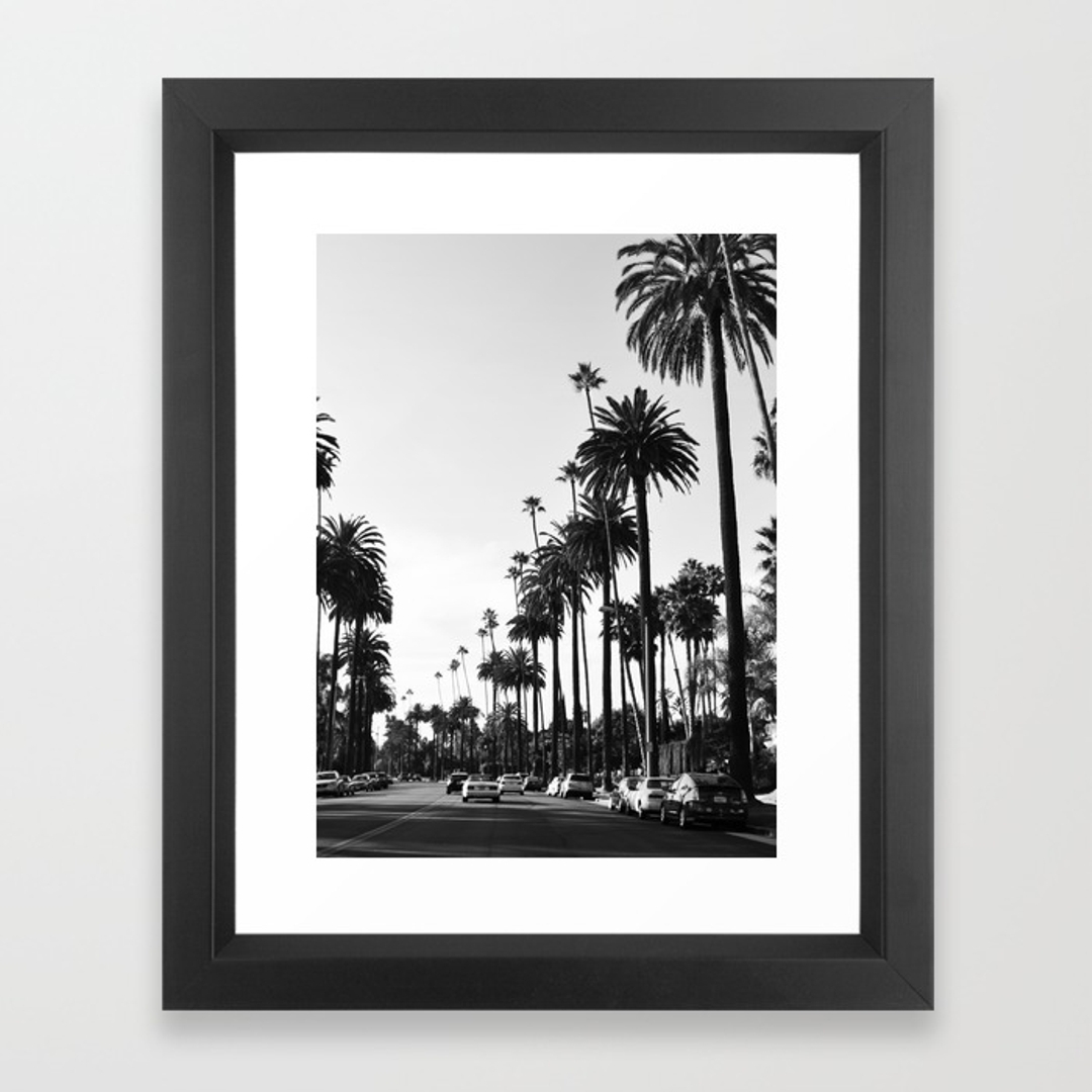 Beverlyhills Framed Art Prints | Society6 With Regard To Most Recent Los Angeles Framed Art Prints (View 9 of 15)