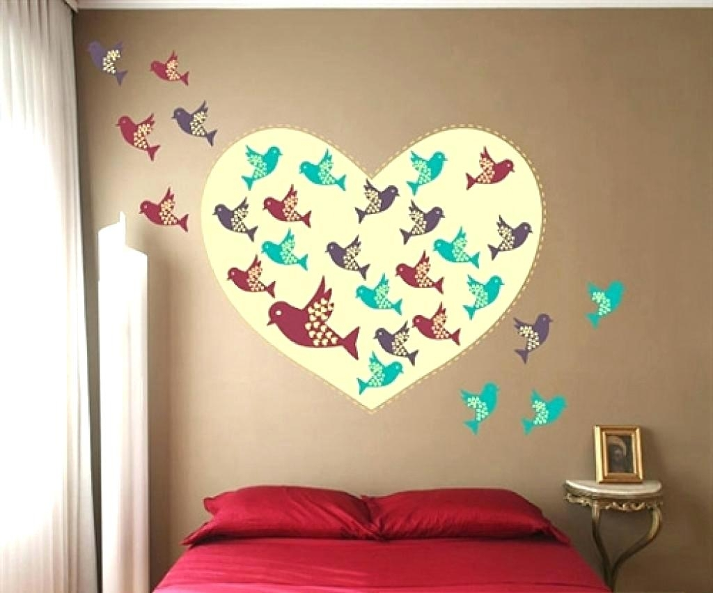 Bird Wall Decals For Nursery Wall Ideas Decorative Fabric Wall Art Intended For 2017 Fabric Bird Wall Art (View 5 of 15)