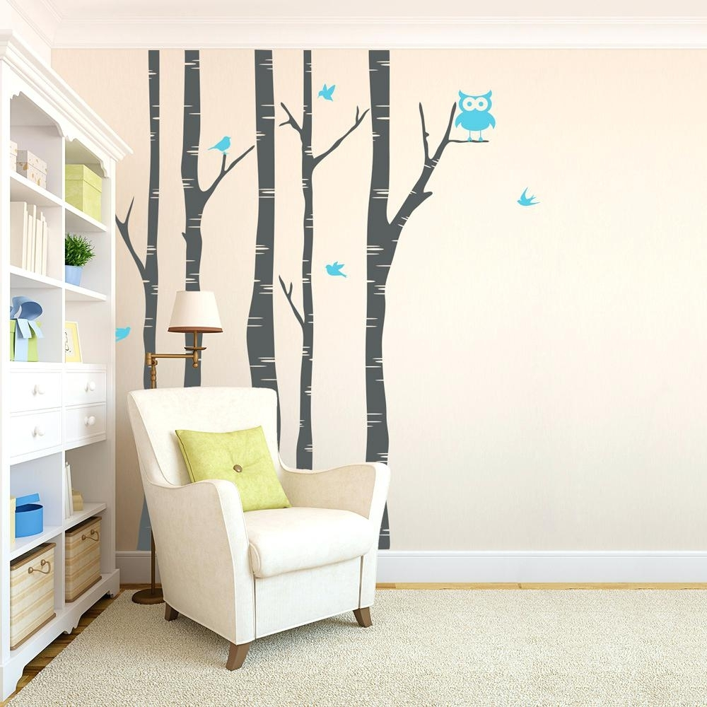 Bird Wall Decals For Nursery Wall Ideas Decorative Fabric Wall Art Regarding Most Recent Fabric Bird Wall Art (View 5 of 15)