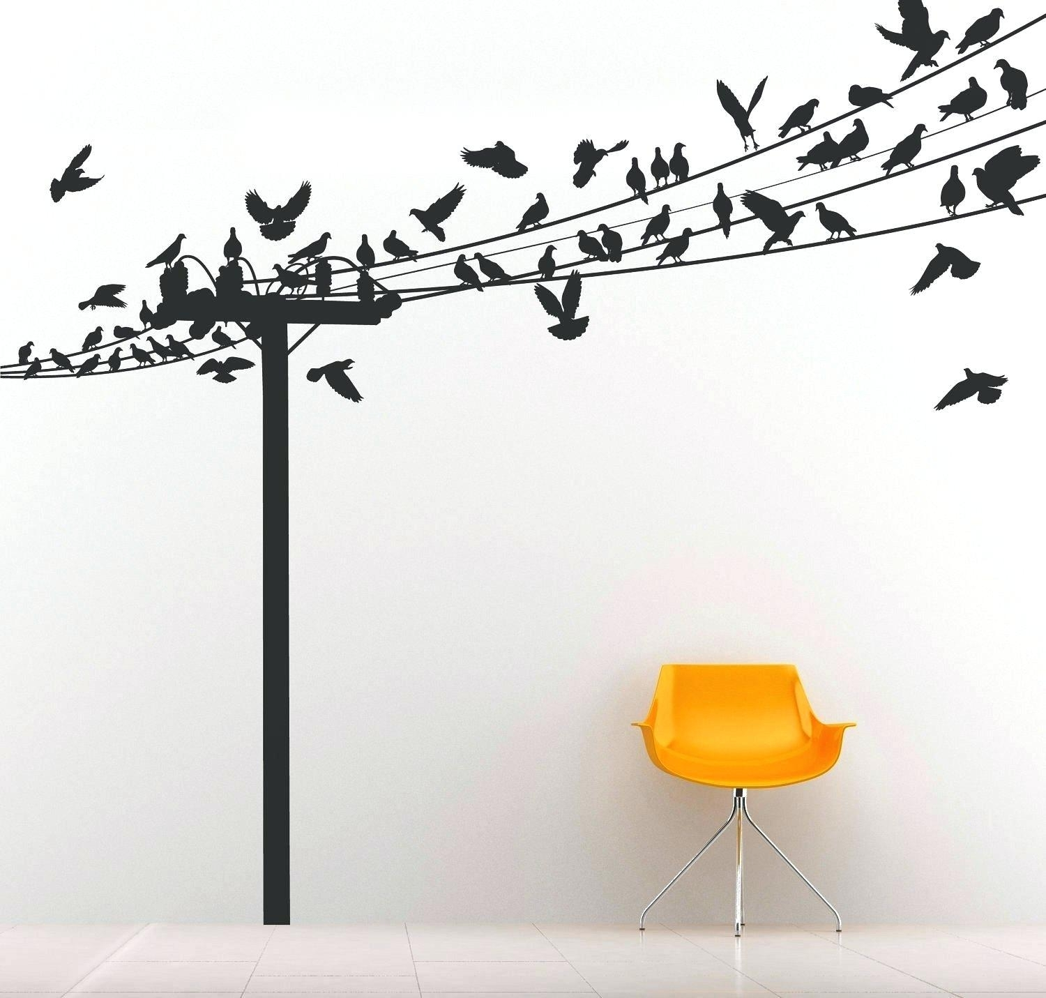 Bird Wall Decals For Nursery Wall Ideas Decorative Fabric Wall Art Within Current Fabric Bird Wall Art (View 3 of 15)