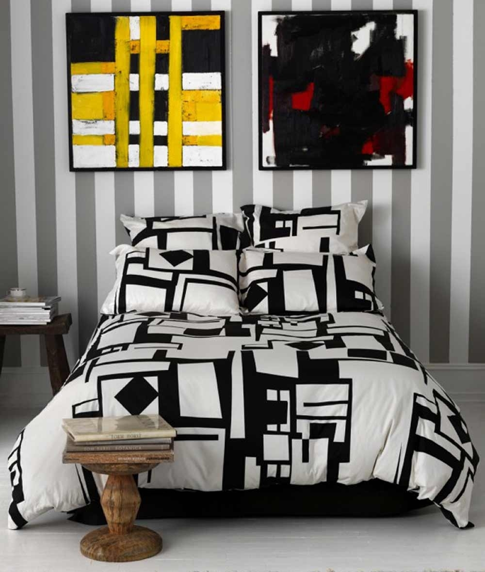 Black And White Bedding At Jcpenney : The Elegant Looks Of Black With Regard To Most Recently Released Jcpenney Canvas Wall Art (View 3 of 15)