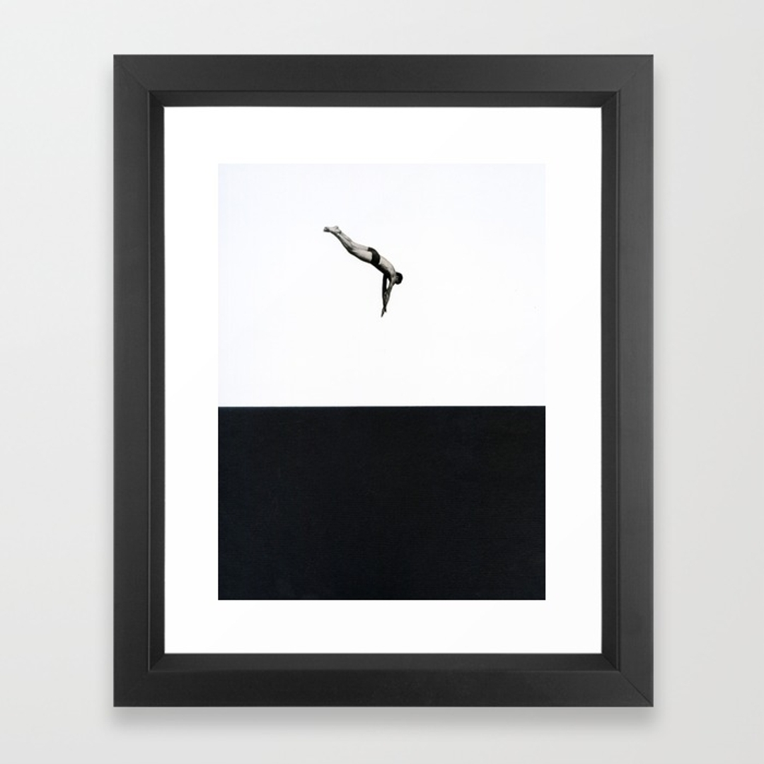 Black White And People Framed Art Prints | Society6 For Current Black Framed Art Prints (View 13 of 15)