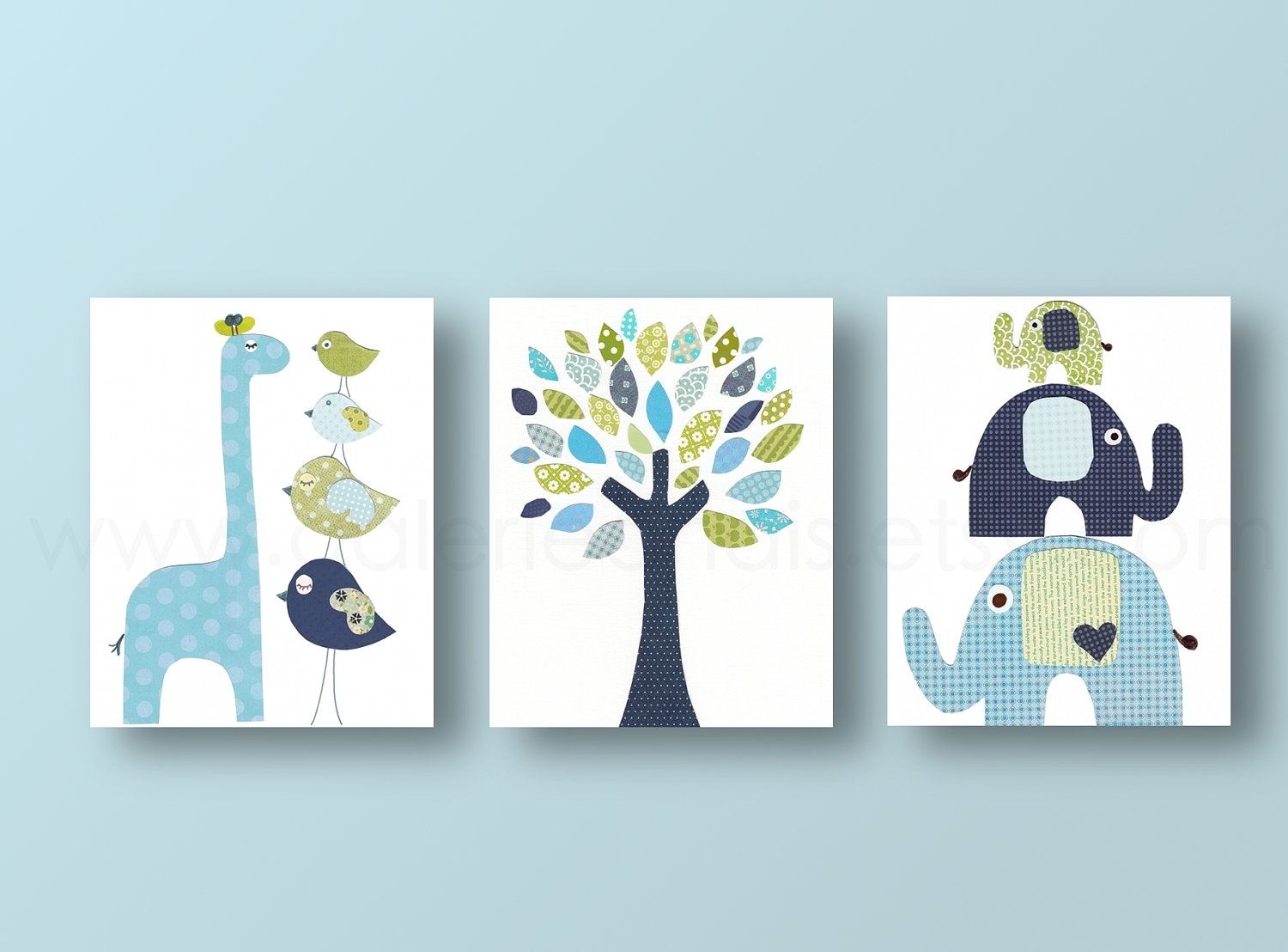 Boy Nursery Wall Decor Picture | Design Idea And Decorations : Boy Intended For Most Up To Date Baby Room Canvas Wall Art (View 15 of 15)
