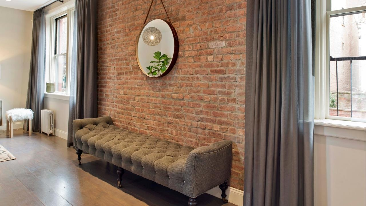 Brick Accent Wall Amazing Home Interior Design Ideasjimmy With Most Recently Released Accents