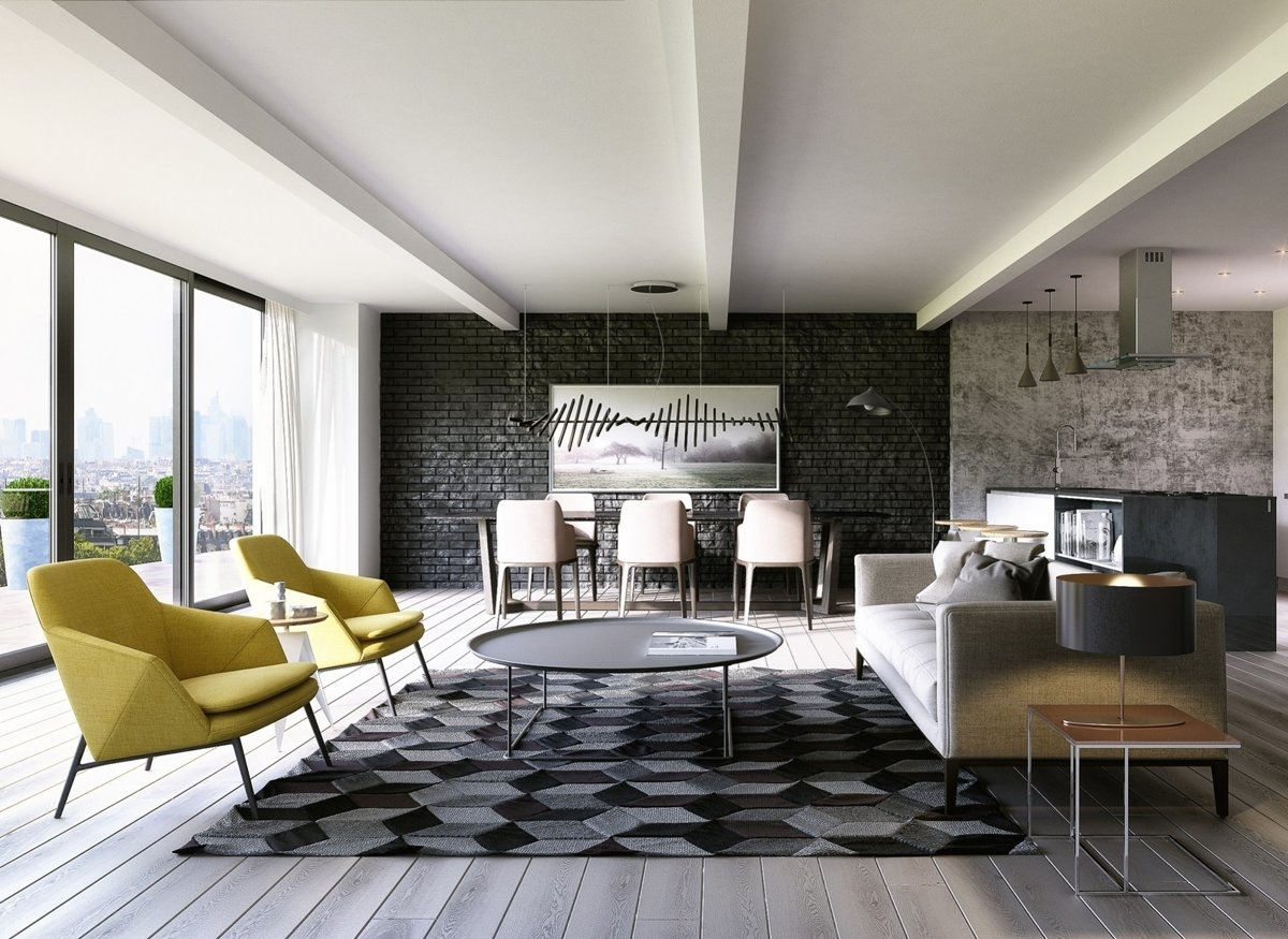 Brick Accent Wall – Home Interiror And Exteriro Design | Home Throughout Most Current Brick Wall Accents (View 6 of 15)
