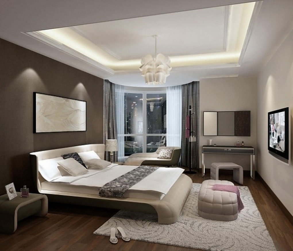 Bright Bedroom Design Idea Using White And Black Accents Wall Inside Recent Wall Art Accents (View 7 of 15)
