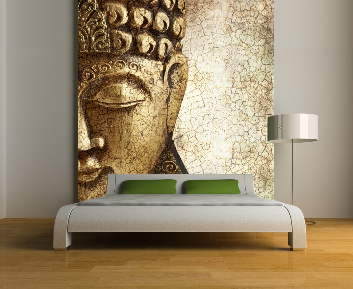 Buddha Wall Mural Repositionable Peel And Stick Wallstyleawall In Most Current Murals Wall Accents (View 8 of 15)