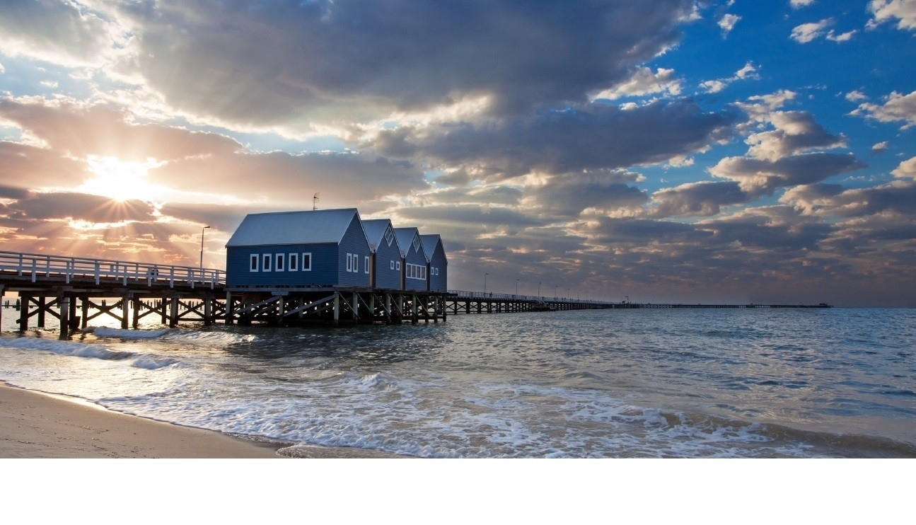 Busselton Jetty Pier High Quality Printed Wall Canvas Eluxury Home Inside 2017 Jetty Canvas Wall Art (View 5 of 15)