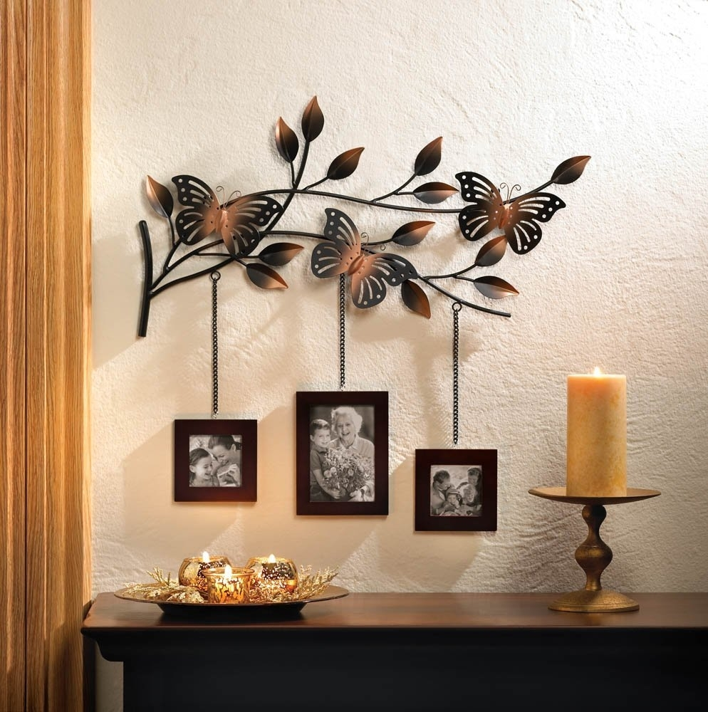 Butterfly Home Decor – Mforum Regarding Best And Newest Amazon Wall Accents (View 2 of 15)
