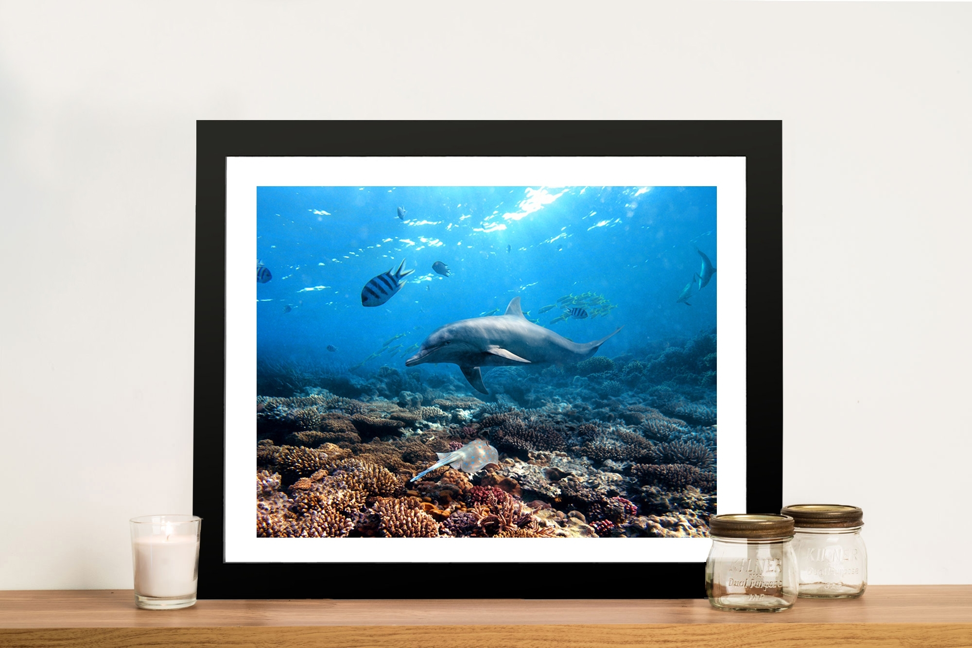 Buy Dolphins Canvas Prints Geelong Melbourne Australia In Most Recently Released Geelong Canvas Wall Art (View 8 of 15)