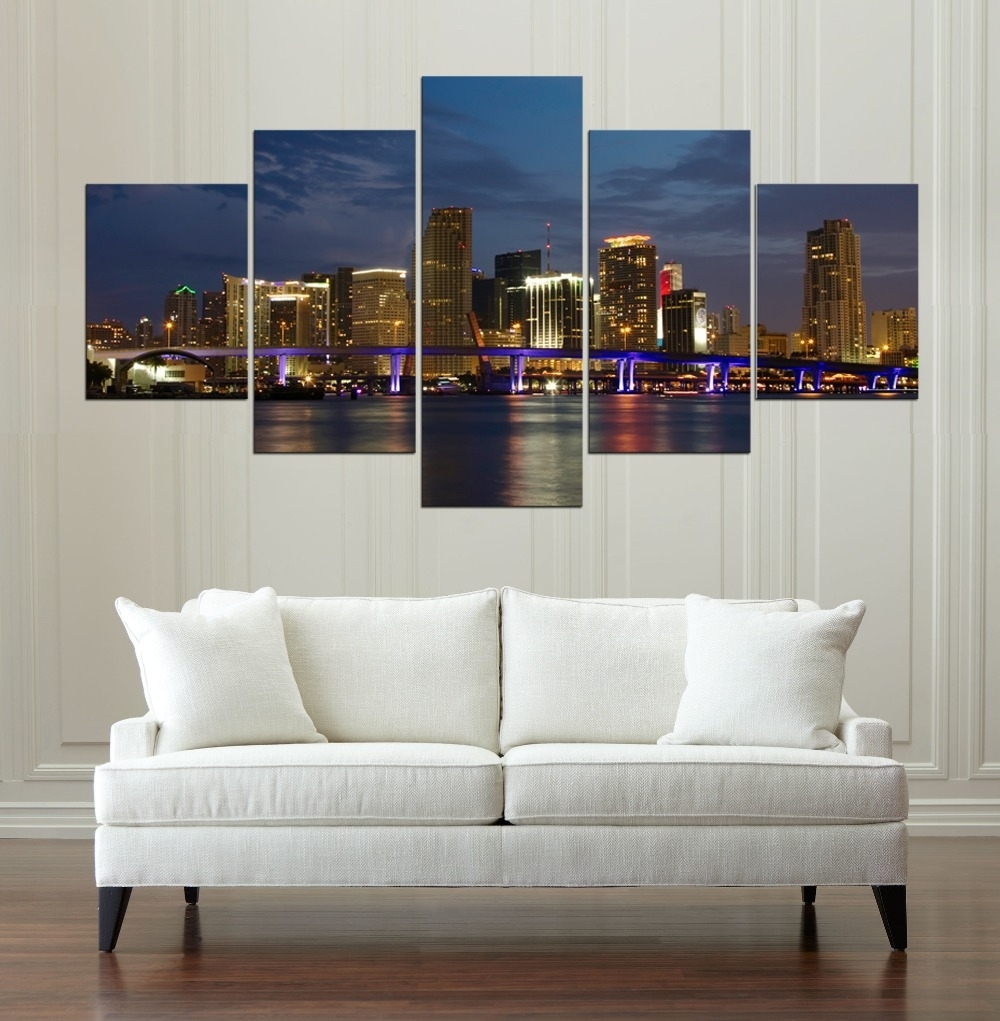Buy Panorama Canvas And Get Free Shipping On Aliexpress Within Most Recently Released Panoramic Canvas Wall Art (View 2 of 15)