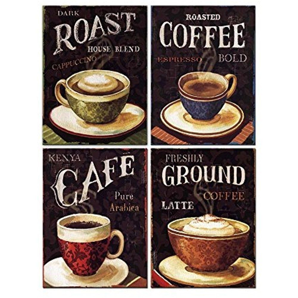Cafe Wall Art Canvas – Supertechcrowntower With Best And Newest Framed Coffee Art Prints (View 4 of 15)