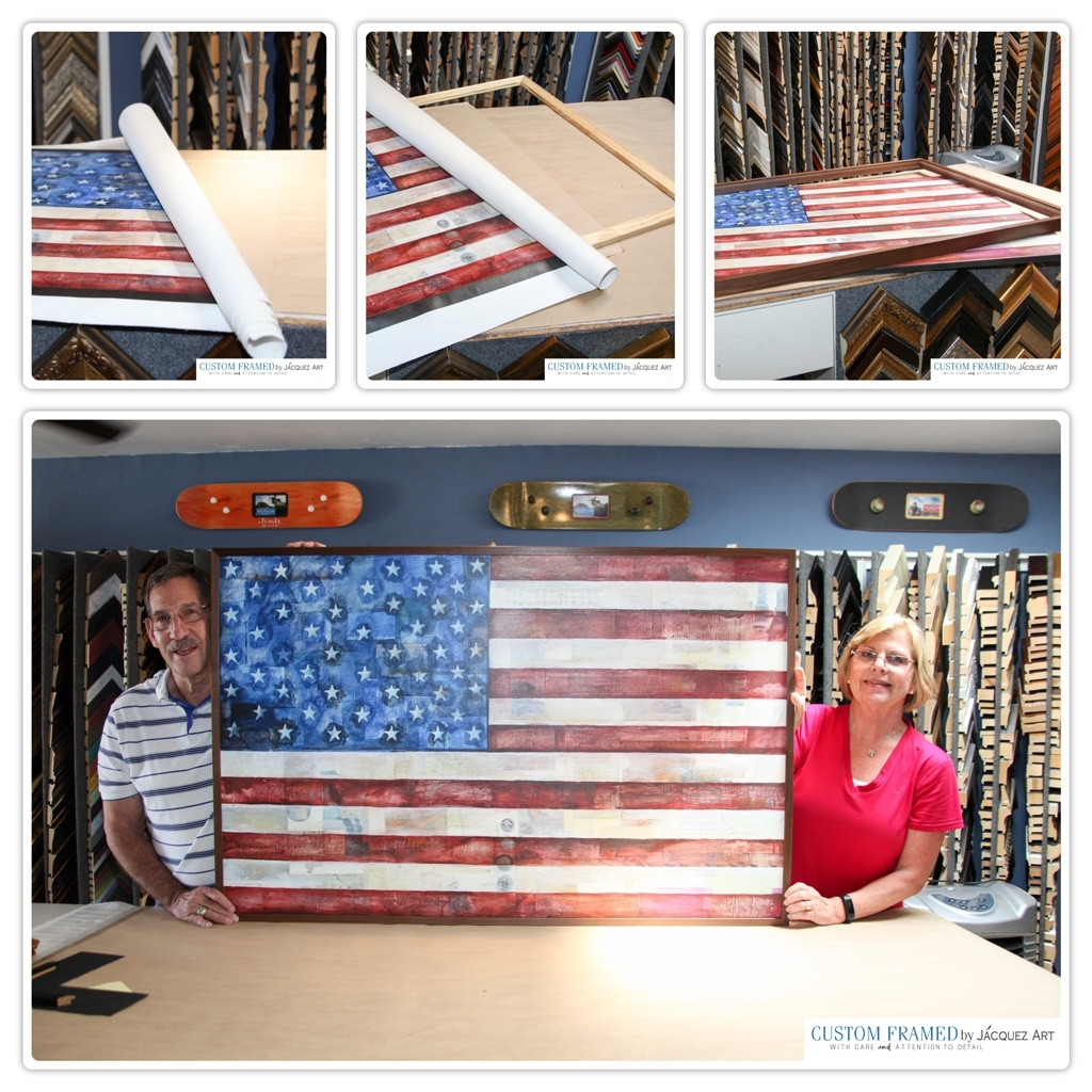 Canvas Art And Painting Stretching Services – Jacquez Art & Custom Intended For Best And Newest Fabric Stretcher Wall Art (View 13 of 15)