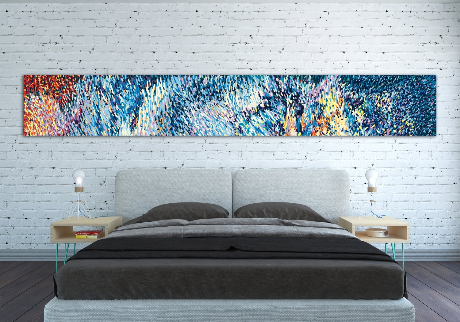 Canvas Print Horizontal Extra Long Horizontal Large Abstract Inside Latest Gordmans Canvas Wall Art (View 3 of 15)
