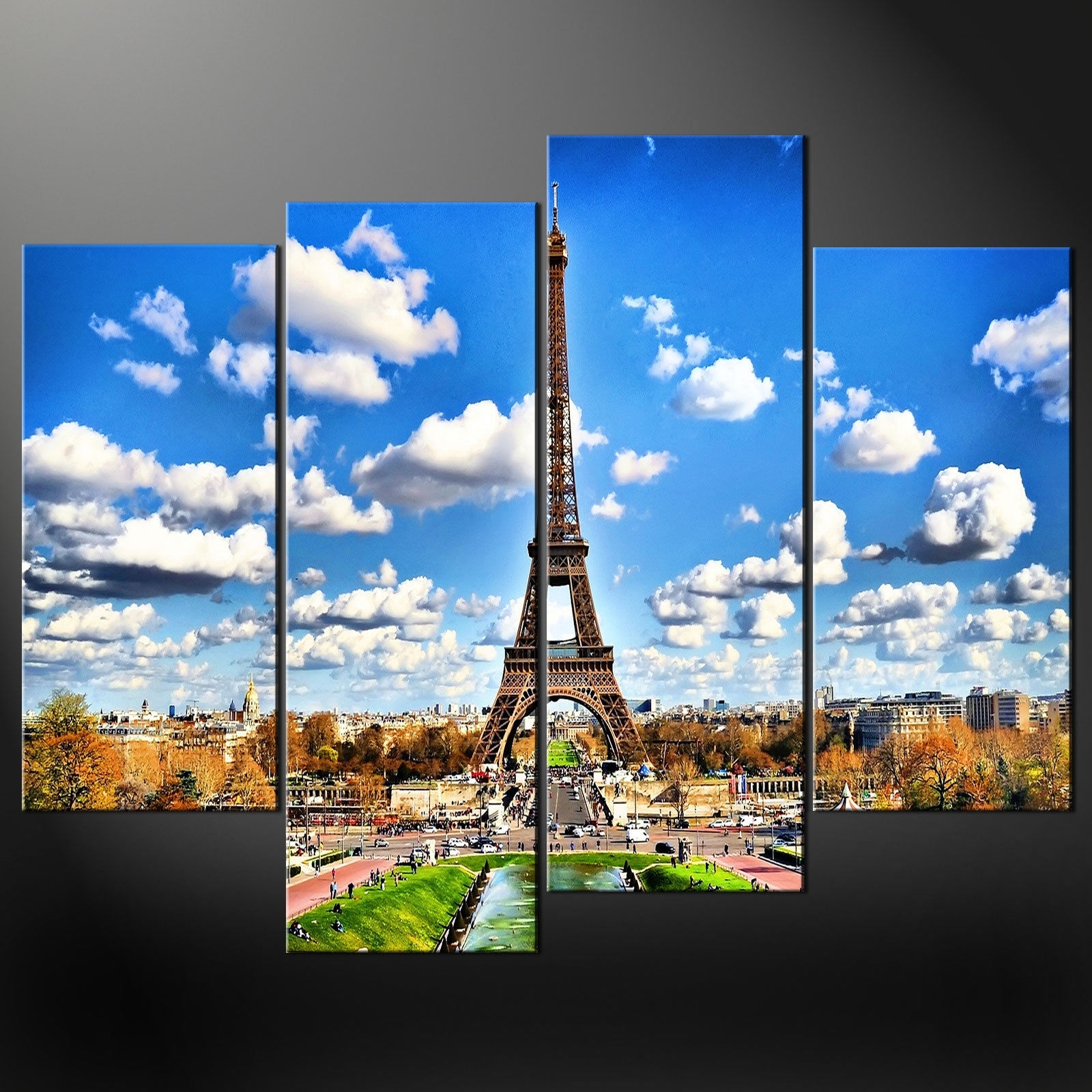 displaying gallery of eiffel tower canvas wall art view 4 of 15 photos