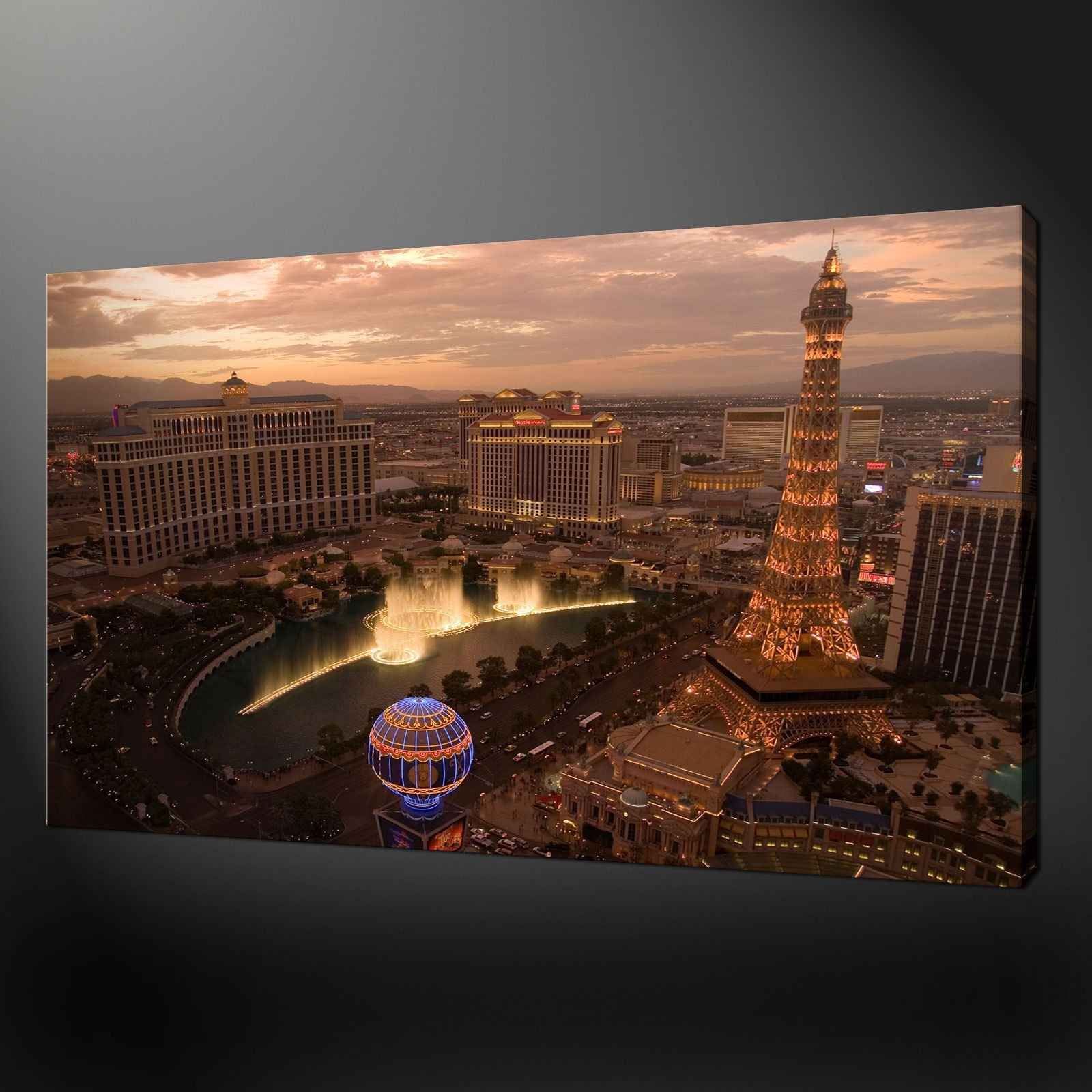 Canvas Print Pictures. High Quality, Handmade, Free Next Day Delivery. Inside Most Current Las Vegas Canvas Wall Art (Gallery 8 of 15)