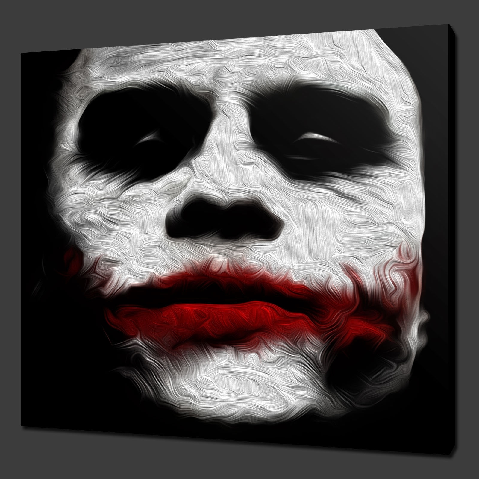 Canvas Print Pictures. High Quality, Handmade, Free Next Day Delivery. Pertaining To Most Up To Date Joker Canvas Wall Art (Gallery 11 of 15)