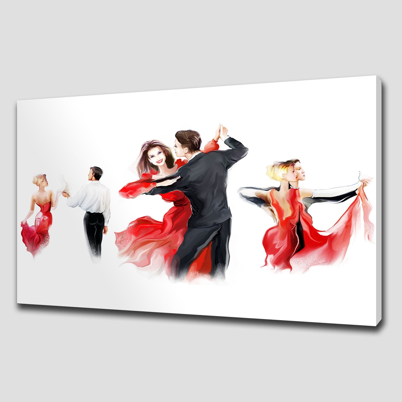 Canvas Print Pictures. High Quality, Handmade, Free Next Day Delivery. Pertaining To Recent Large Red Canvas Wall Art (Gallery 11 of 15)