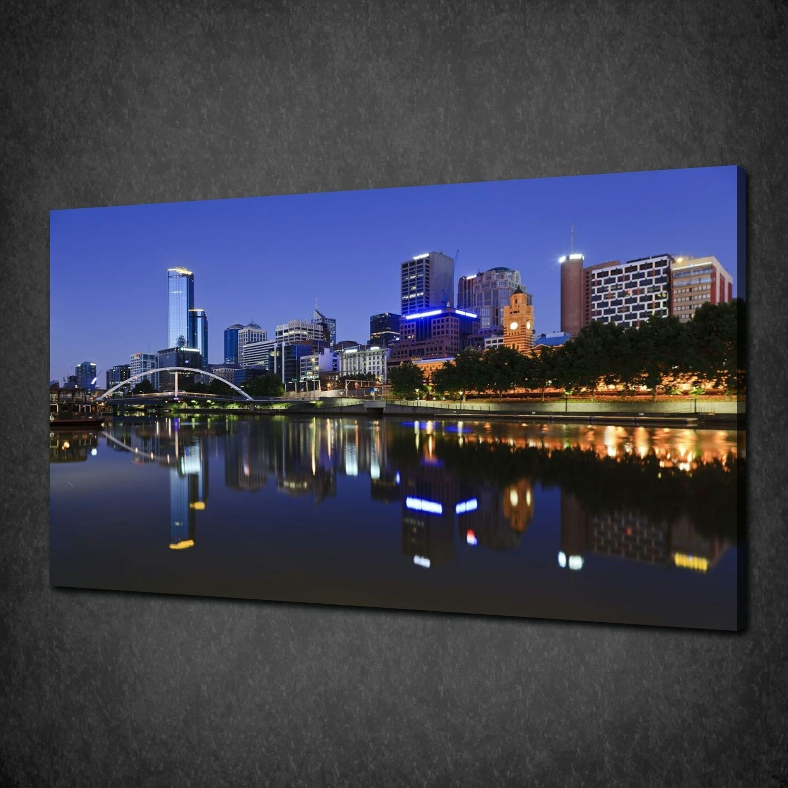 Canvas Print Pictures. High Quality, Handmade, Free Next Day Delivery. Regarding Most Popular Melbourne Canvas Wall Art (Gallery 5 of 15)