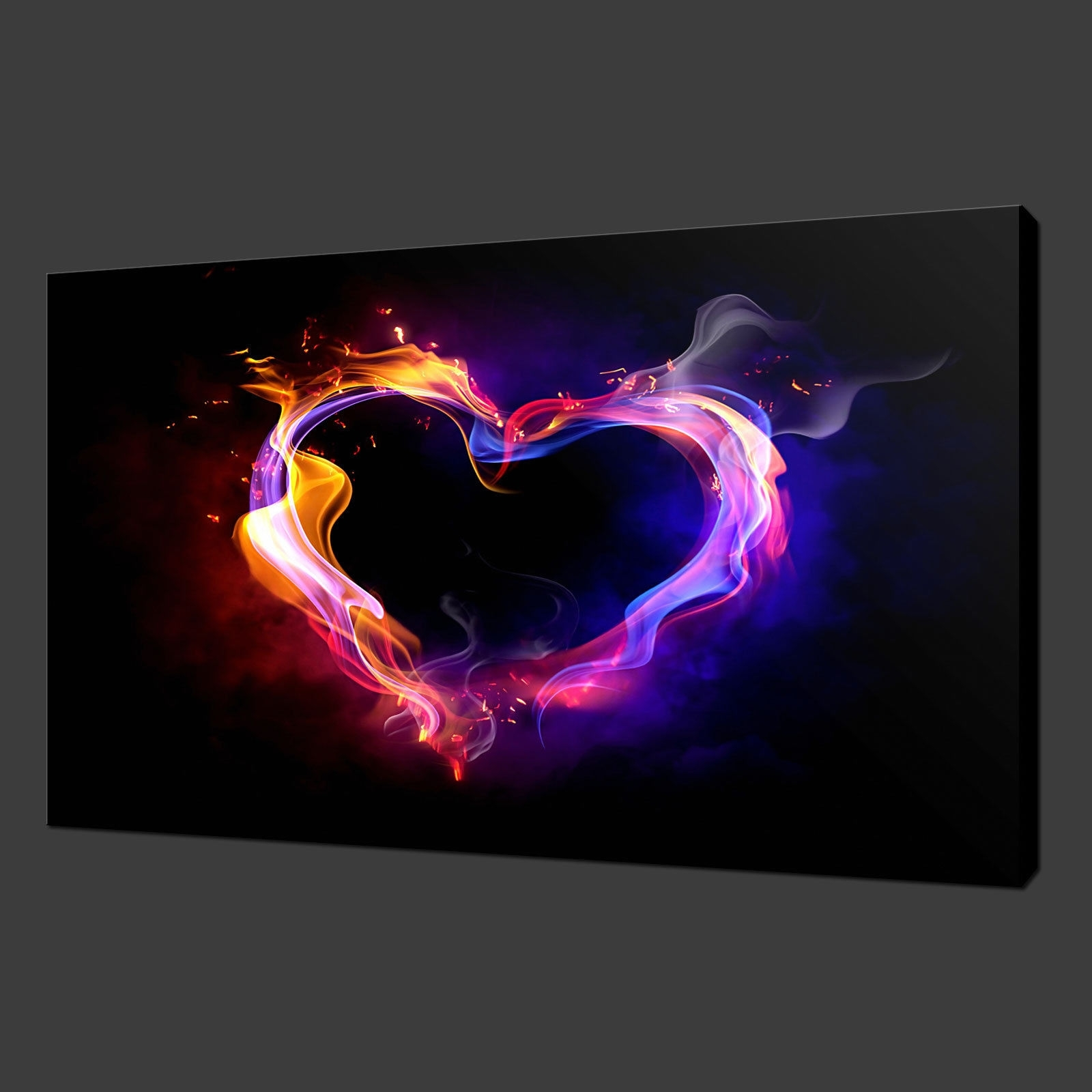 Canvas Print Pictures. High Quality, Handmade, Free Next Day Delivery. Regarding Newest Hearts Canvas Wall Art (Gallery 14 of 15)