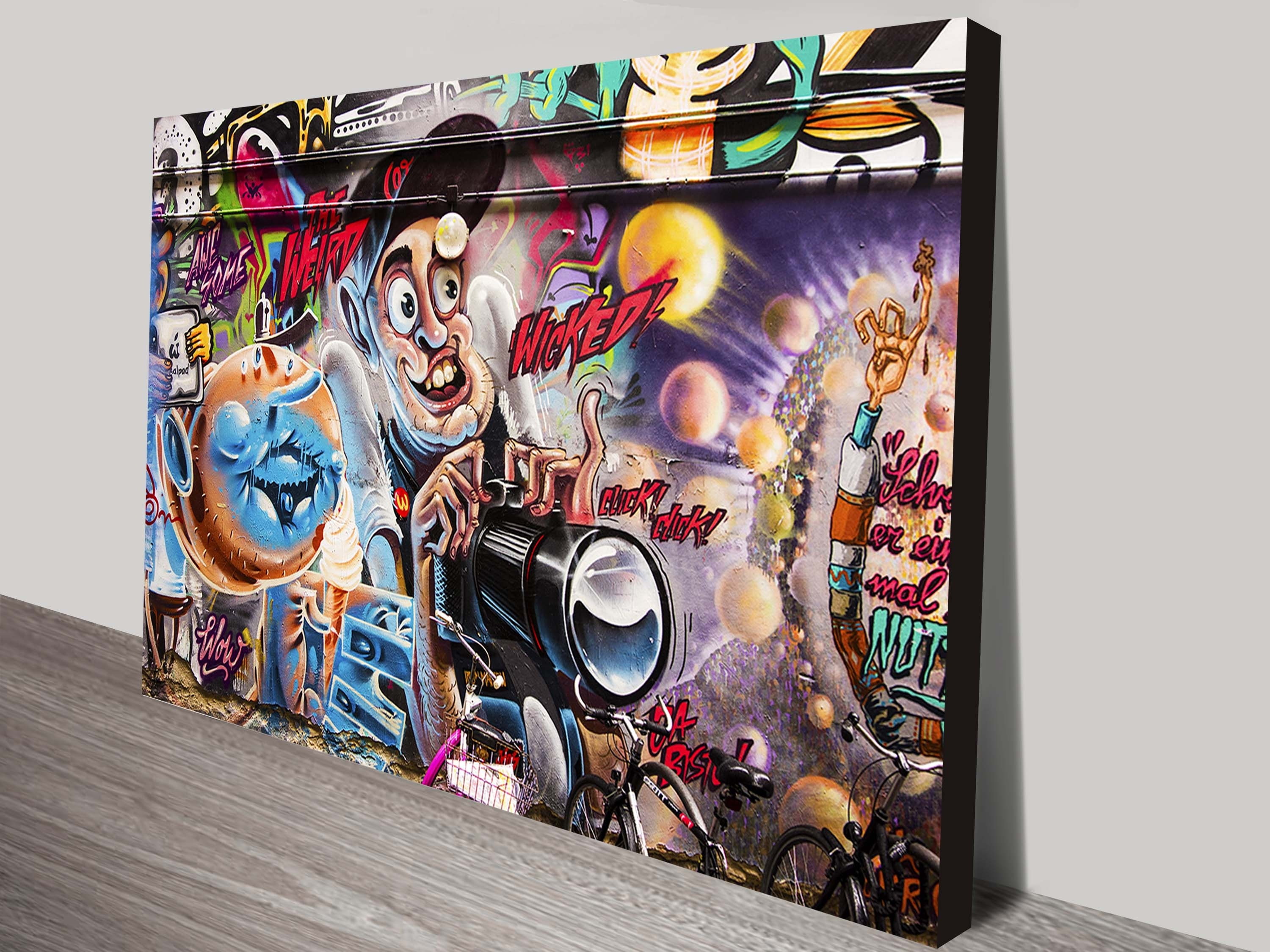 Canvas Print Wall Art In Most Recently Released Graffiti Canvas Wall Art (View 2 of 15)
