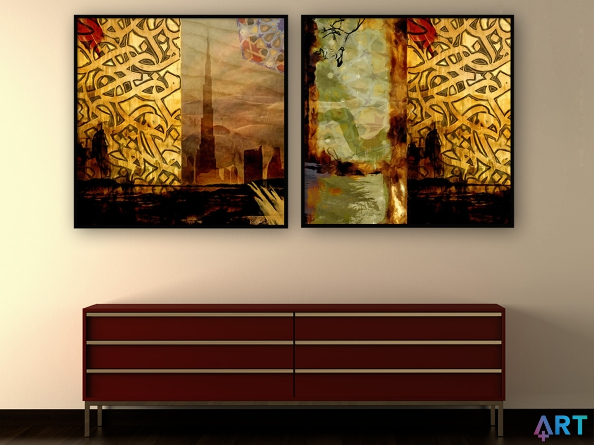 Canvas Printing Dubai | Best Quality Canvas Prints | Art Plus Inside Most Up To Date Dubai Canvas Wall Art (View 7 of 15)