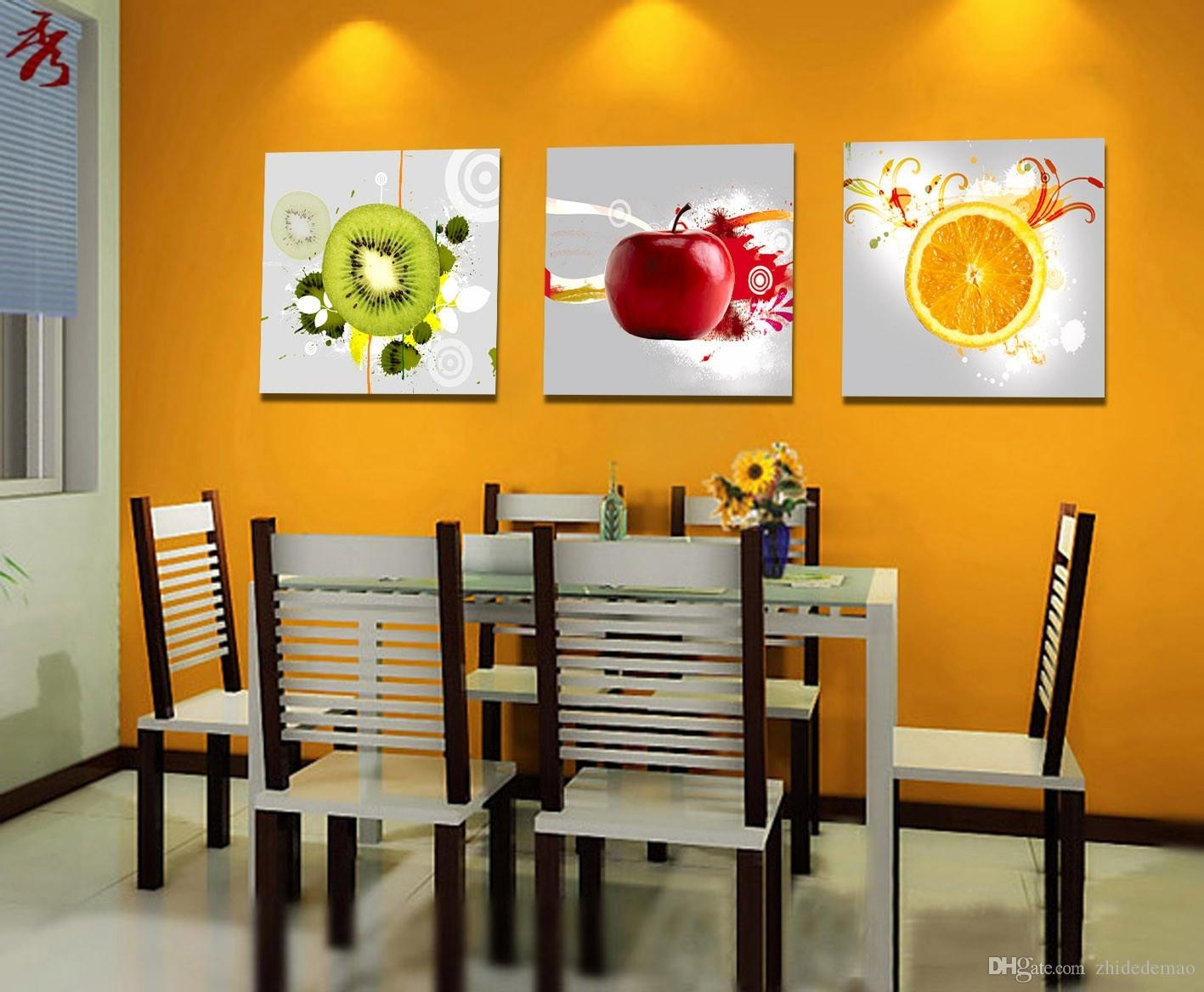 Canvas Wall Art For Dining Room – Alliancemv With Regard To Most Up To Date Canvas Wall Art For Dining Room (View 6 of 15)