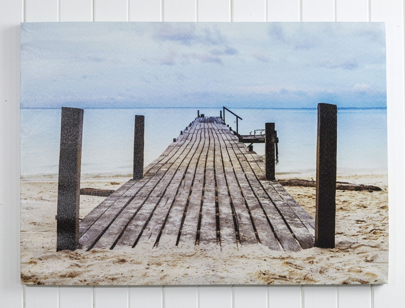 Canvas Wall Art Jetty – Black/ Blue Intended For 2018 Jetty Canvas Wall Art (View 6 of 15)