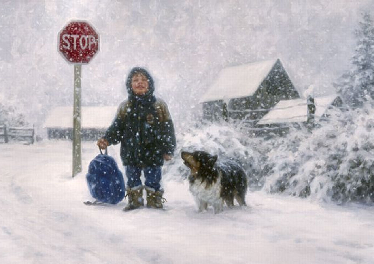 Catching Snowflakesrobert Duncan | Charming Children?Bless In 2018 Robert Duncan Framed Art Prints (View 7 of 15)