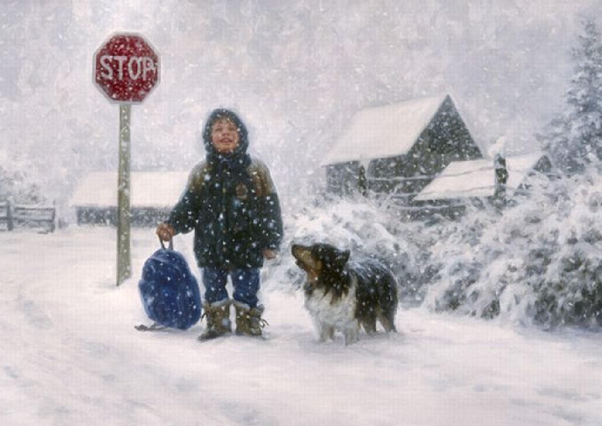 Catching Snowflakesrobert Duncan | Charming Children?Bless In 2018 Robert Duncan Framed Art Prints (View 6 of 15)