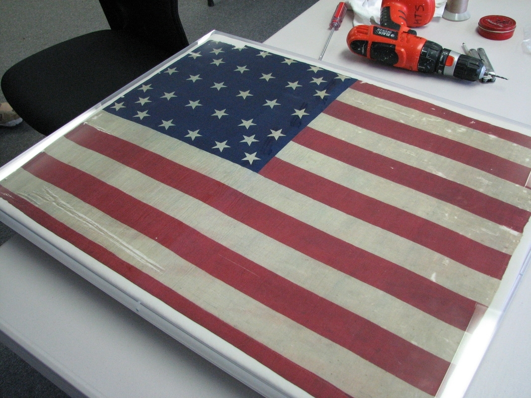 Category: Frame Within Recent American Flag Fabric Wall Art (View 7 of 15)