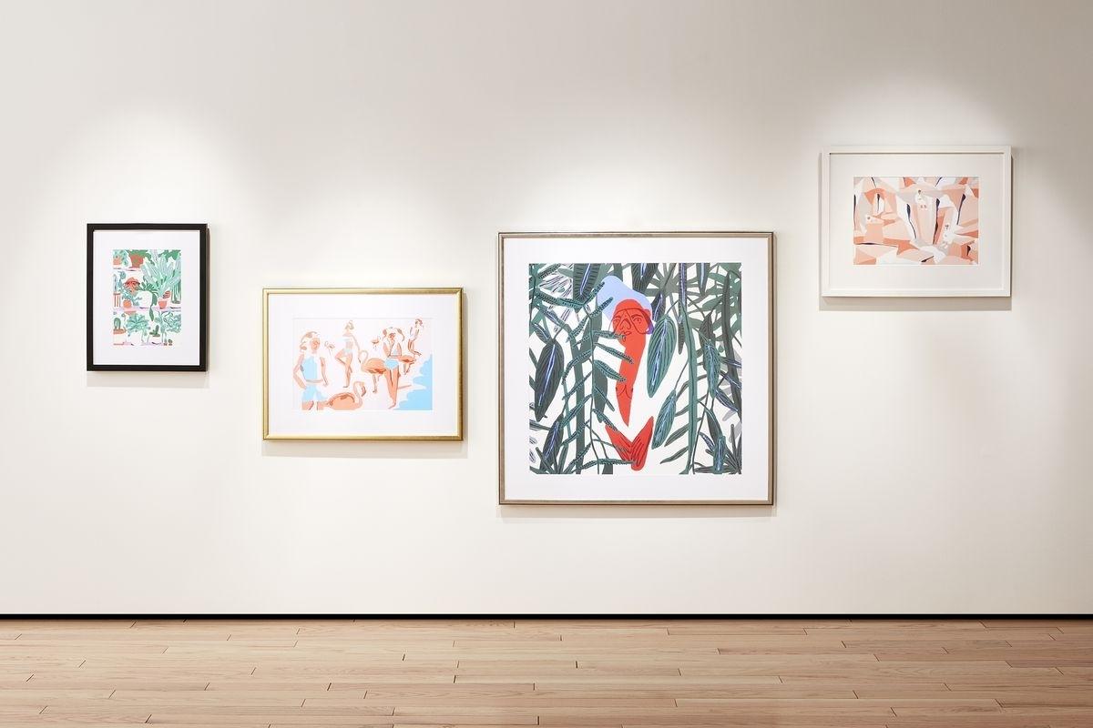 Cb2 And Framebridge Partner For Collection Of Custom Framed Art Inside 2017 Contemporary Framed Art Prints (Gallery 2 of 15)