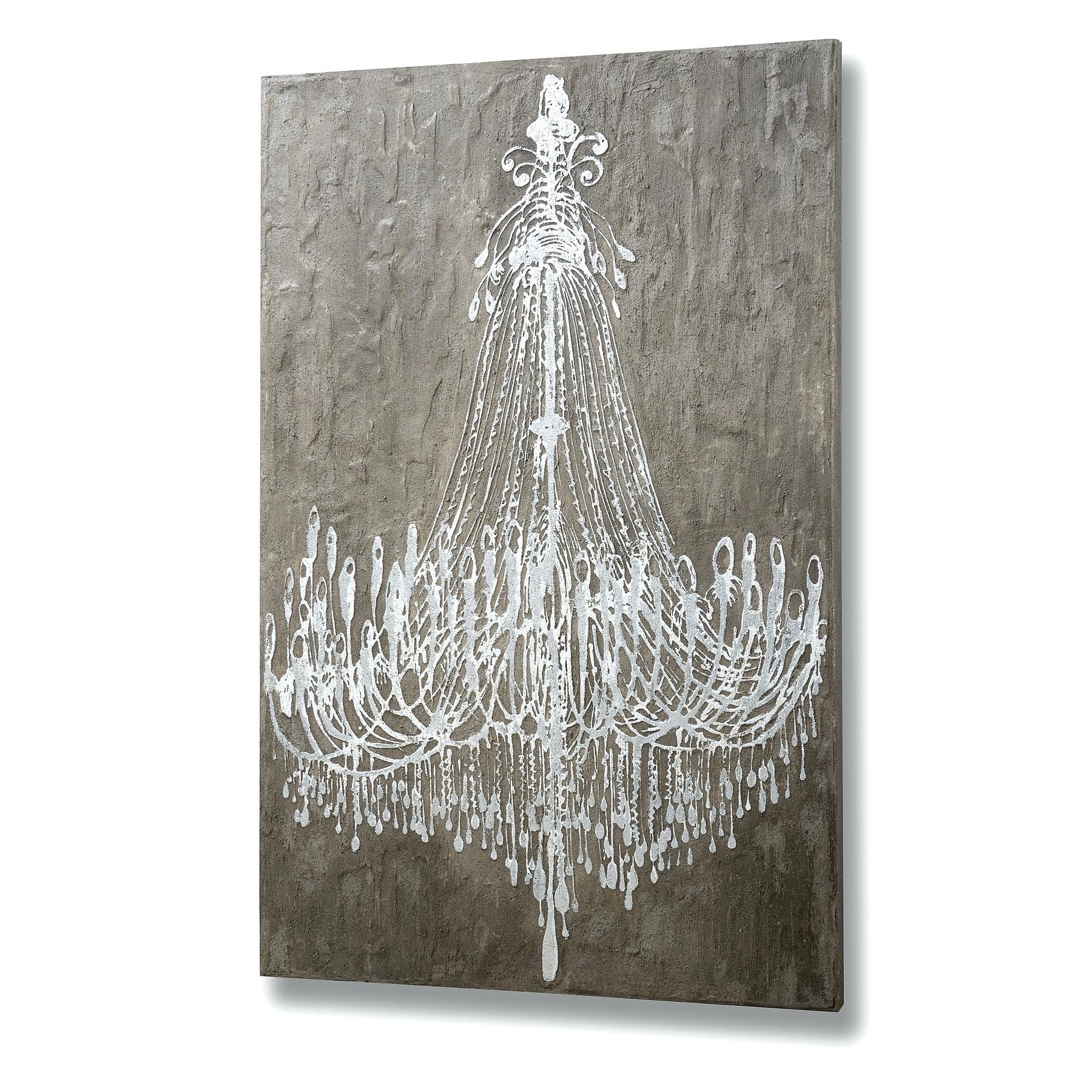 Chandelier Canvas Art Unique Wall Ideas Chandelier Wall Art Intended For Latest Chandelier Canvas Wall Art (Gallery 10 of 15)