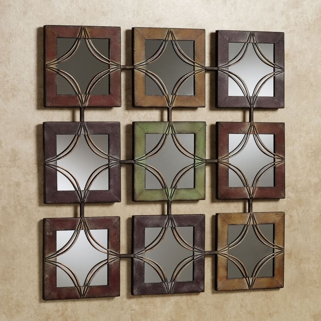 Charming Ideas Wall Decor Mirror Great Living Room Sets Popular Throughout Latest Mirror Sets Wall Accents (View 15 of 15)