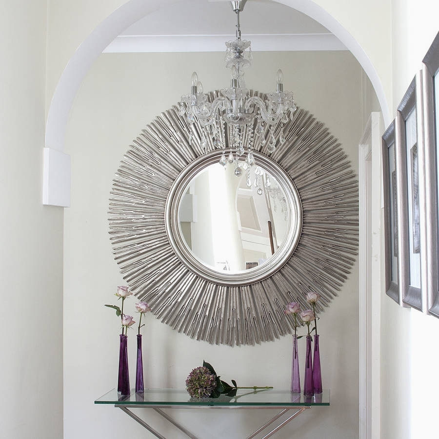 Charming Ideas Wall Decor Mirror Great Living Room Sets Popular With Most Popular Mirrors Wall Accents (View 4 of 15)