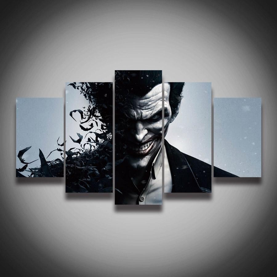 Featured Photo of Joker Canvas Wall Art