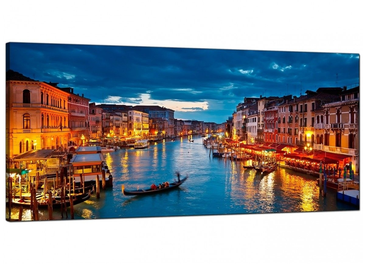 Cheap Canvas Prints Of Venice Italy For Your Living Room Throughout Recent Canvas Wall Art Of Italy (Gallery 3 of 15)
