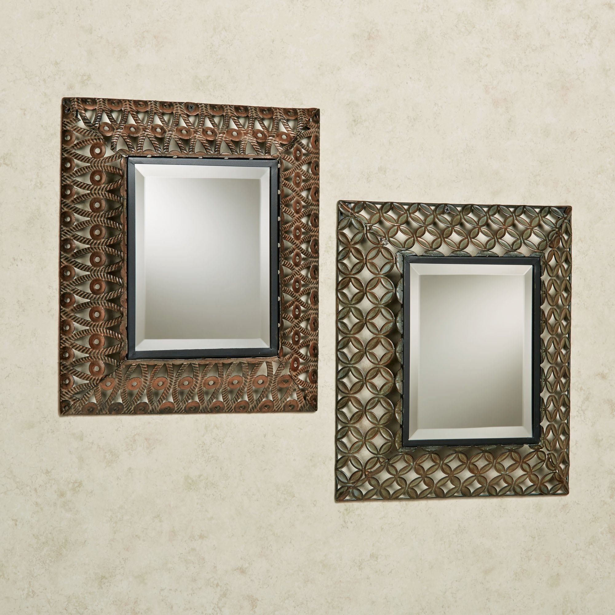 Cheap Decorative Wall Mirror Vintage Mirror Sets Wall Decor – Wall In Recent Mirror Sets Wall Accents (View 3 of 15)