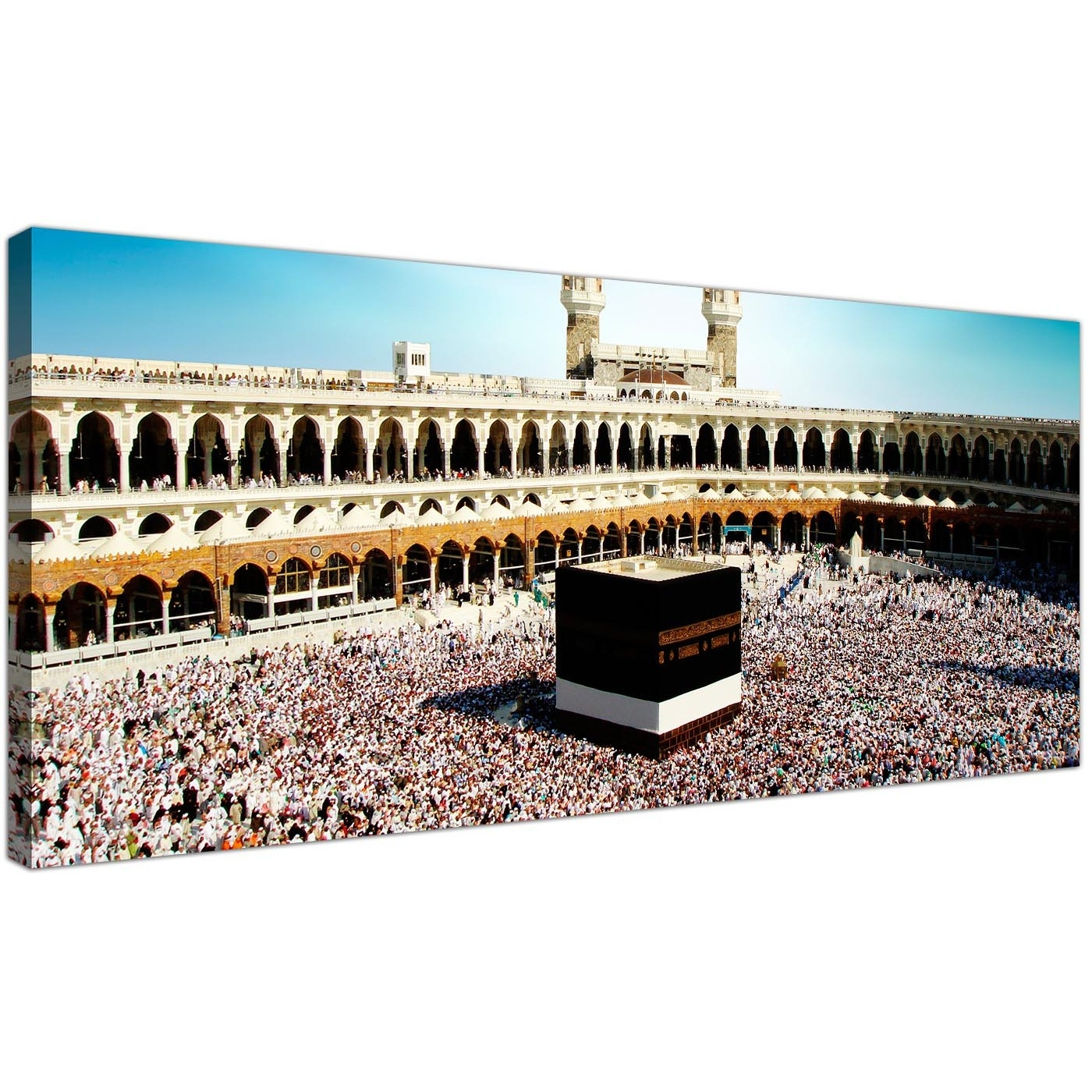 Cheap Islamic Canvas Wall Art Prints Of Muslim Pilgrimage To Mecca Intended For 2018 Islamic Canvas Wall Art (View 4 of 15)